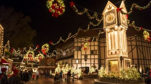 The top 10 winners in the category Best Theme Park Holiday Event
