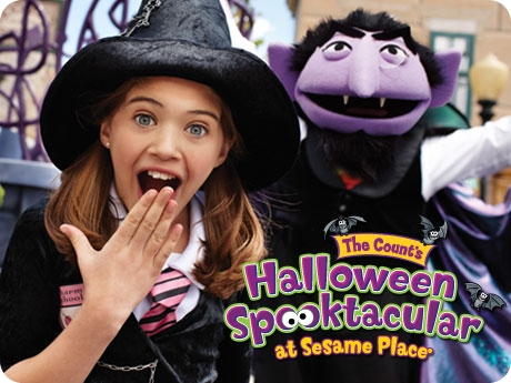 The Count's Halloween Spooktacular at Sesame Place®
