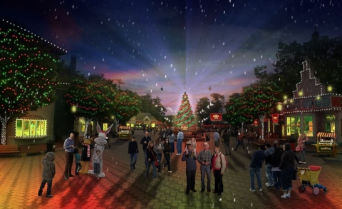 New Holiday in the Park® Festival Dazzles at Six Flags Great Adventure