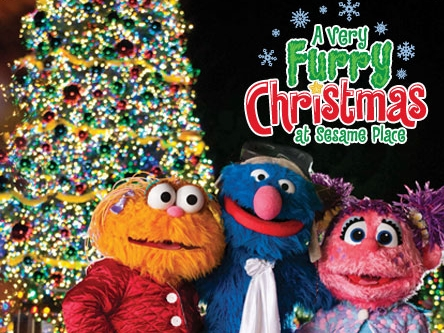 A Very Furry Christmas at Sesame Place®