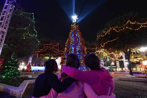 Holiday in the Park, at Six Flags Over Texas
