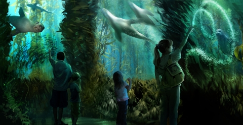 National Geographic Encounter: Ocean Odyssey Opens in Times Square