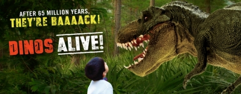 THEY'RE BACK! DINOSAURS ARE ROAMING TAMPA'S LOWRY PARK ZOO