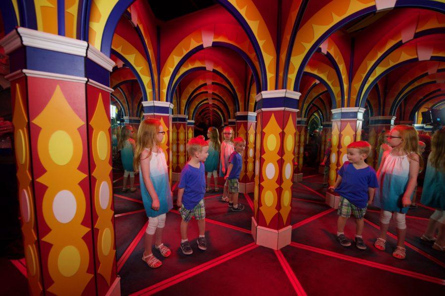 Big Top Mirror Maze in Niagara
