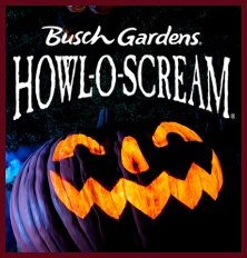 Busch Gardens Howl-O-Scream Kicks Off!