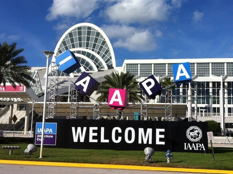 Two Week Countdown until IAAPA 2018